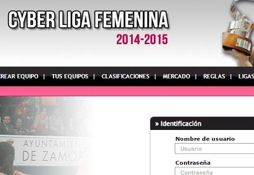 Cyberliga Femenina 2014-15