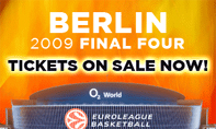 2009 Berlin Final Four tickets go on sale Wednesday at 12:00 (CET)